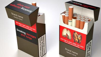 Британија од маја 2016. прелази на једнообразна паковања цигарета