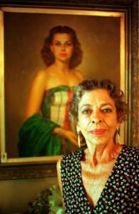 Наталија испред свог портрета , Фото: profimedia.rs