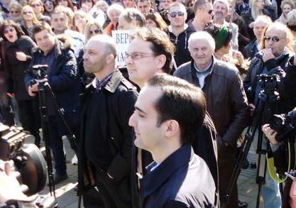 Орошени министар и 8.000 прекобројних / Фото: Јован Павловић