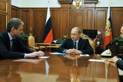 Николај Фјодоров и Владимир Путин