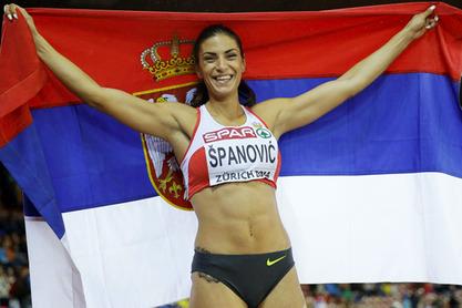 Наша најбоља атлетичарка Ивана Шпановић