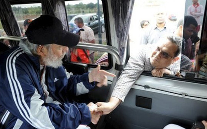 Фидел Кастро сат и по разговарао са делегацијом Венецуеле
