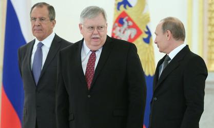 Сергеј Лавров, Џон Тефт и Владимир Путин