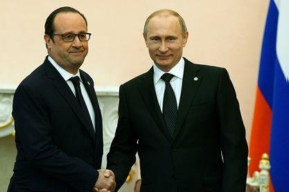 Оланд и Путин у Јеревану