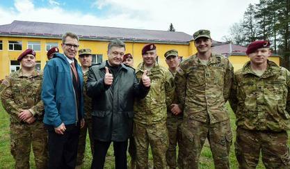 Украјински председник Петар Порошенко са Американцима