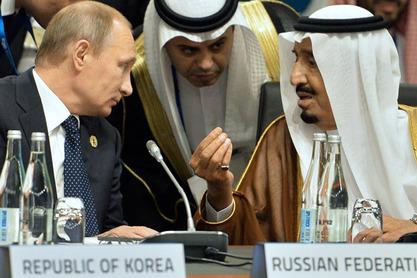 Владимир Путин и Салман бен Абдел Азиз