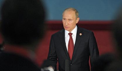 Руски  председник Владимир Путин