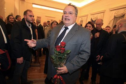 Грчки министар спољних послова Никос Коцијас
