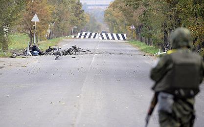 """Два америчка официра посетила """"линију разграничења"""" у Донбасу"""