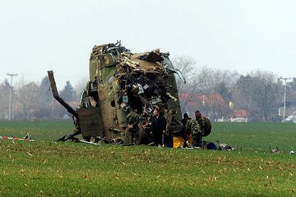 """За пад војног хеликоптера """"примарно одговорна посада"""""""