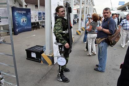 Екзоскелети ће омогућавати невероватне скокове и да војник носи до 300 кг