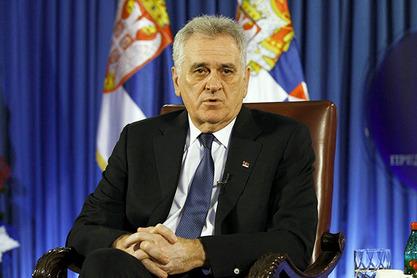 Српски председник Томислав Николић