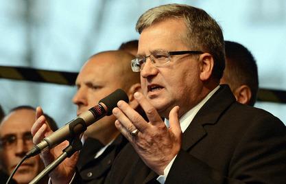 Пољски председник Бронислав Коморовски