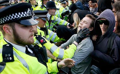 У Лондону ухапшено 17 учесника демонстрација против Камерона