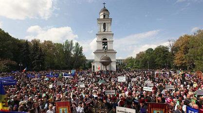 У Молдавији православна црква организује Марш породица