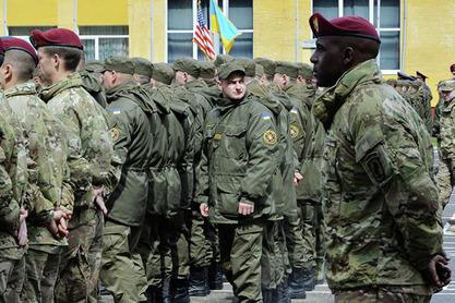 Побуна украјинских резервиста на војном полигону у Лавовској области