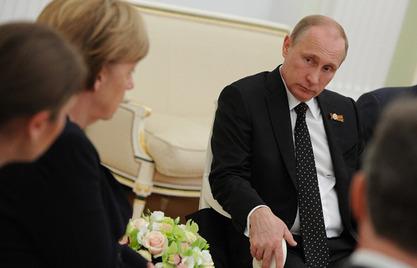 Меркелова се код Кремља поклонила пред спомеником Непознатом војнику