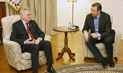 Председник Томислав Николић и премијер Александар Вучић