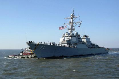 """Амерички ракетни разарач """"Рос"""" упловио у Црно море"""