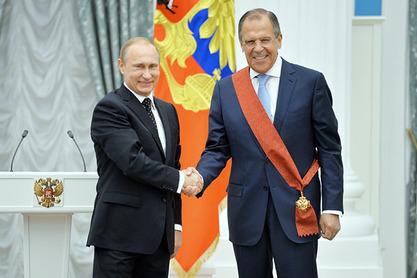 Путин одликовао Лаврова Орденом за заслуге за Отаџбину првог степена
