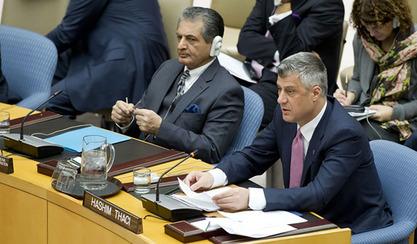 Тачи у Савету безбедности Ун најавио тужбу против Србије за геноцид