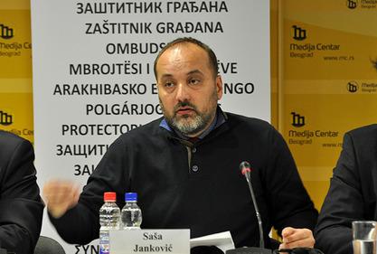 Заштитник грађана Саша Јанковић