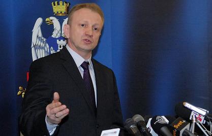 Некадашњи председник Демократске странке (ДС) Драган Ђилас