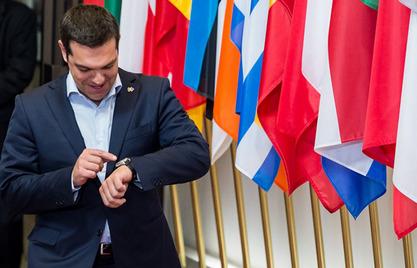 Председник ЕК Жан-Клод Јункер и Алексис Ципрас