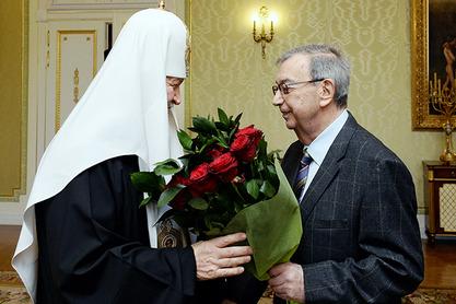 Патријарх Кирил и Јевгениј Примаков