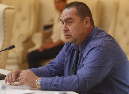 Председник Луганске Републике Игор Плотњицки
