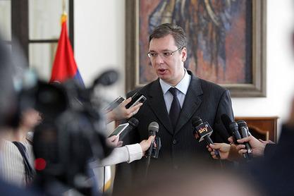 Премијер Александар Вучић