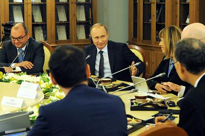 Путин са страним новинарима у Санкт Петербургу