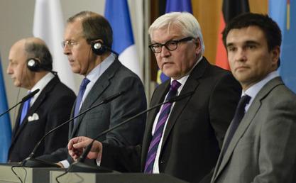 Штајнмајер, Лавров и Фабиус потврдили значај Минска-2