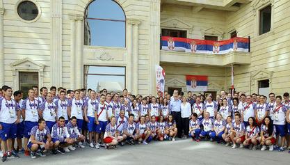 Српска експедиција у Бакуу / Прикупљен новац за Специјалну олимпијаду