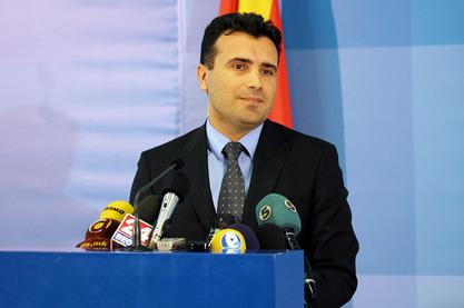Вођа македонског опозиционог СДСМ-а Зоран Заев