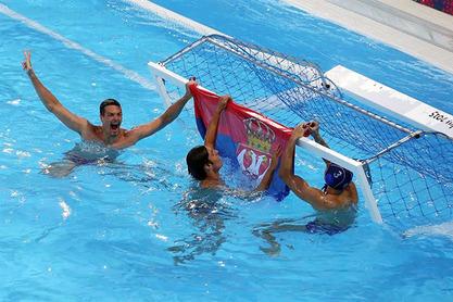 Златни српски делфини допутовали у Београд