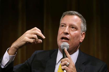 Градоначелник Њујорка Бил де Блазио