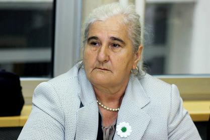 Мунира Субашић, председница Удружења Мајке Сребренице и Жепе