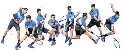 Историја тениса дописана ћирилицом