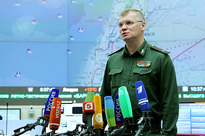 Портпарол Министарства одбране РФ, генерал Игор Конашенков