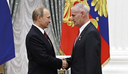 Владимир Путин и Јуриј Соломонов