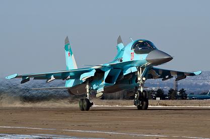Су-34 почели да над Сиријом лете и са ракетама ваздух-ваздух малог и средњег домета