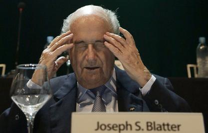 Председник светске фудбалске организације Јозеф Блатер