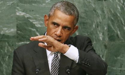 """Обама се у тв-интервјуу наљутио на питање о """"руском лидерству у Сирији"""""""