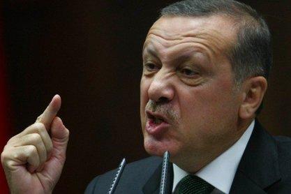 Ердоган и син