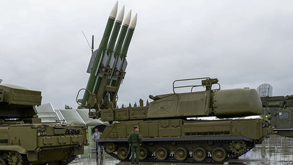 """Блумберг: Ф-15 престали да лете изнад севера Сирије због ракетних система """"Бук"""""""