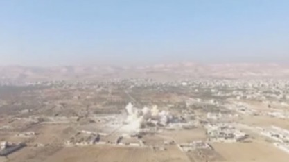 Сиријска армија уништила подземни град ИД испод града Дараја код Дамаска