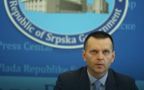 Министар унутрашњих послова Републике Српске Драган Лукач