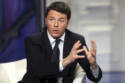 Шеф италијанске владе Матео Ренци