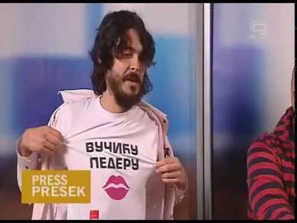 Томислав Ловрековић на новосадској ТВ Канал плус (13. новембар 2015)